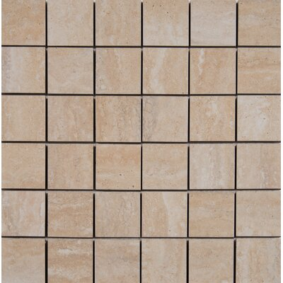 Veneto 2 x 2 Porcelain MosaicTile in Sand