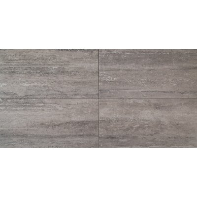 Veneto 16 x 32 Porcelain Field Tile in Gray