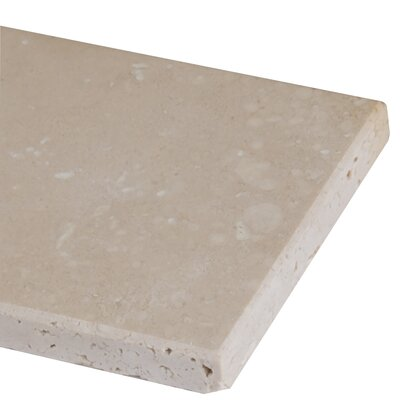 3 x 6 Travertine Subway Tile in Honed Beige