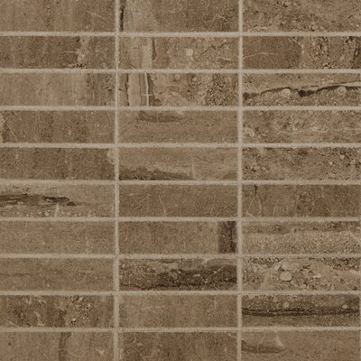 Pietra 1 x 4 Porcelain Mosaic Tile in Dunes Stacked