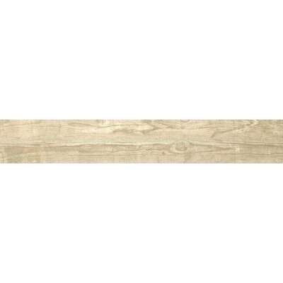 Salvage 6 x 40 Porcelain Wood Tile in Glazed Honey