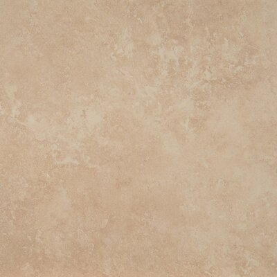 Travertino 18 x 18 Porcelain Field Tile in Beige