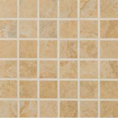 Venice 2 x 2 Porcelain Mosaic Tile in Cream