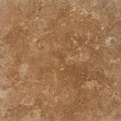 Travertino 12 x 12 Porcelain Field Tile in Walnut