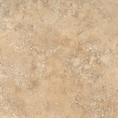 Venice 20 x 20 Porcelain Field Tile in Glazed Crema