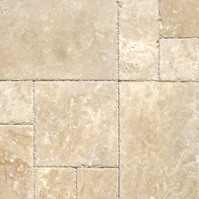 Tuscany Beige Travertine Field Tile in Honed Beige