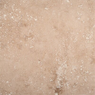 Tuscany Classic 18 x 18 Travertine Field Tile in Beige