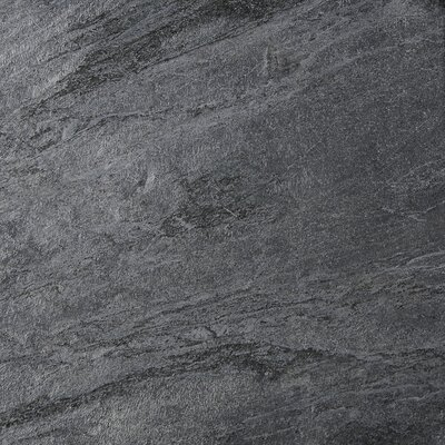 12 x 12 Natural Stone Field Tile in Polished Ostrich Grey