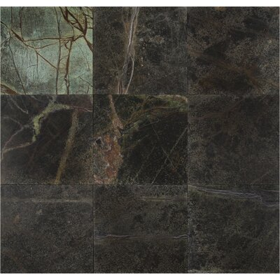 12 x 12 Marble Field Tile in Rain Forest