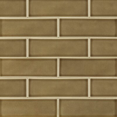 4 x 12 Ceramic Tile in Artisan Taupe