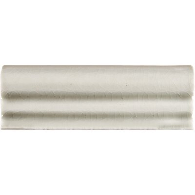 2 x 6 Ceramic Tile Trim in Antique White