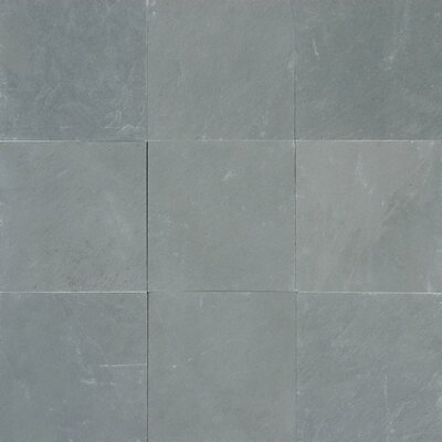 Montauk 12 x 12 Slate Field Tile in Honed Blue