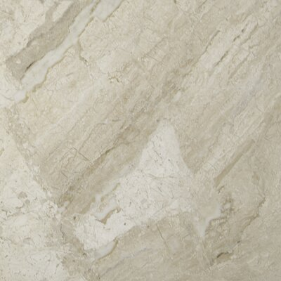 New Diana Reale 18 x 18 Marble Field Tile in Beige (Set of 3)