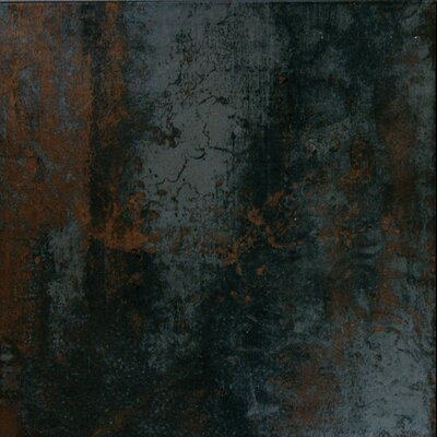 Nickel Antares 20 x 20 Porcelain Metal Tile in Brown