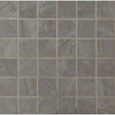 Pietra Pearl 2 x 2 Porcelain Mosaic Tile in High Gloss