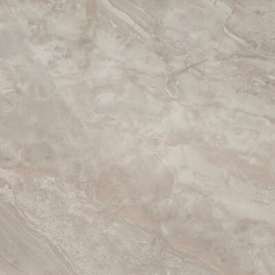 Pietra Pearl 24 x 24 Porcelain Field Tile in Gray (Set of 3)