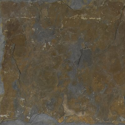 California 24 x 24 Slate Field Tile in Multi