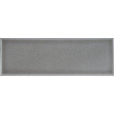 4 x 12 Ceramic Wall Tile in Dove Gray