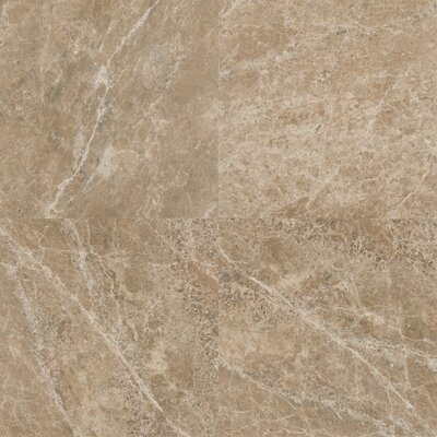 12 x 12 Marble Field Tile in Emperador Light