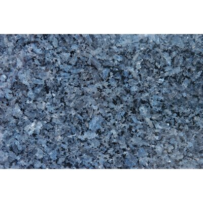 18 x 31 Polished Granite Tile in Blue Pearl