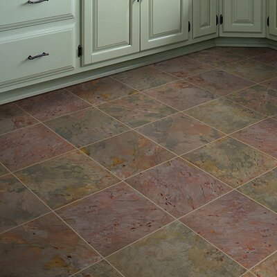 Classic 12 x 12 Slate Field Tile in Multi