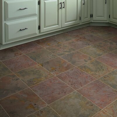 Classic 16 x 16 Slate Field Tile in Multi