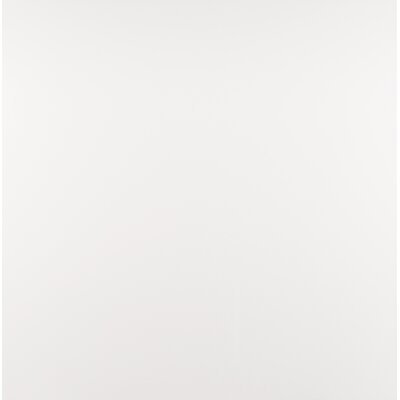 Domino 24 x 24 Porcelain Subway Tile in Matte White (Set of 3)