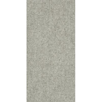 Tektile 12 x 24 Porcelain Fabric look Tile in Matte Gray