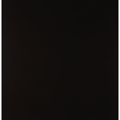 Domino 24 x 24 Porcelain Subway Tile in Polished Black (Set of 3)