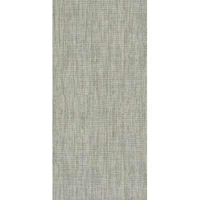 Tektile 12 x 24 Porcelain Fabric look Tile in Matte glaze Gray