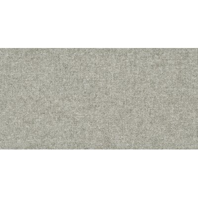 Tektile 12 x 24 Porcelain Fabric look Tile in Matte Gray