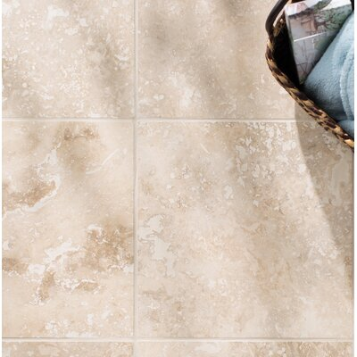 Tuscany Classic 16 x 16 Travertine Field Tile in Honed and Filled Beige