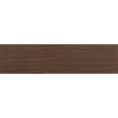 Sygma Chocolate 6 x 24 Ceramic Wood look Tile in Brown