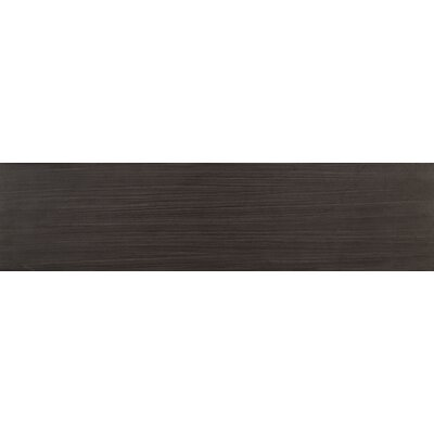 Sygma Ebony 6 x 24 Ceramic Wood look Tile in Black