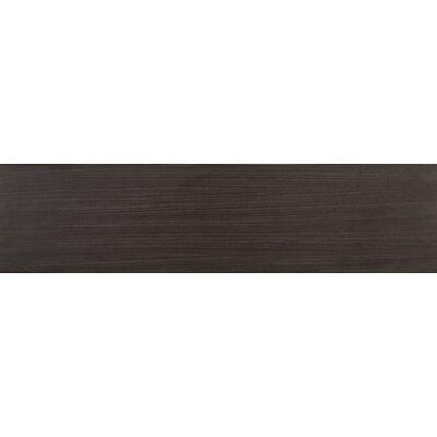 Sygma Ebony 6 x 24 Ceramic Wood look Tile in Black