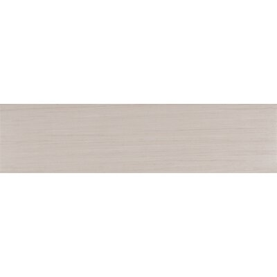 Sygma Ice 6 x 24 Ceramic Wood look Tile in White