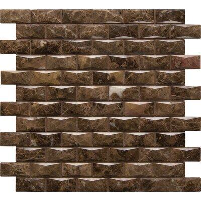 Basketweave Hon Travertine Mosaic Tile in Cream