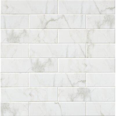 Classique 4 x 16 Ceramic Field tile in White