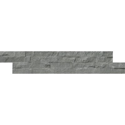 Mountain Bluestone 6 x 24 Sandstone Splitface Tile in Blue