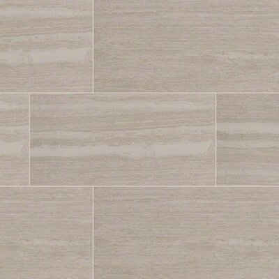 Orion Blanco 12 x 24 Porcelain Wood Look/Field Tile in White