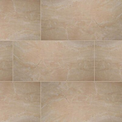 Pietra Onyx 16 x 32 Porcelain Field Tile in Beige (Set of 3)