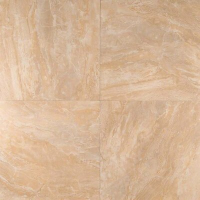 Onyx 18 x 18 Porcelain Field Tile in Beige