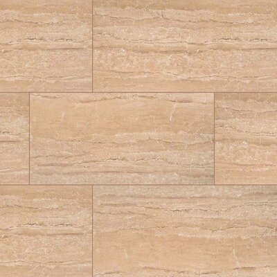 Dunes 16 x 32 Porcelain Wood Look/Field Tile in Beige