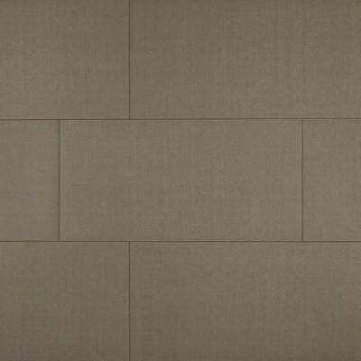Loft Olive 12 x 24 Porcelain Fabric Look/Field Tile in Gray