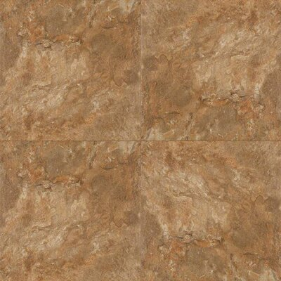 Platino Rustico 18 x 18 Porcelain Field Tile in Brown