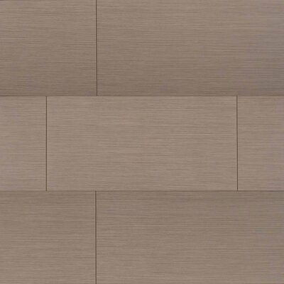 Focus Olive 12 x 24 Porcelain Wood Look/Field Tile in Gray