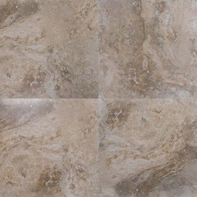 Navona Sole 20 x 20 Porcelain Field Tile in Brown