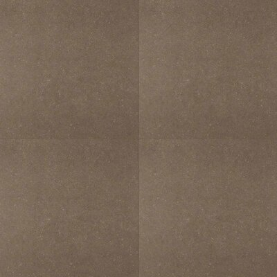 Dimensions Concrete 24 x 24 Porcelain Field Tile in Gray