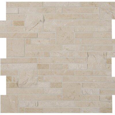 Marble Mosaic Tile in Beige