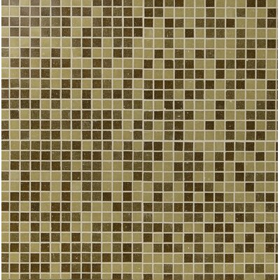 Canyon Vista Glass Mosaic Tile in Brown